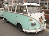注連縄の安田バス23W