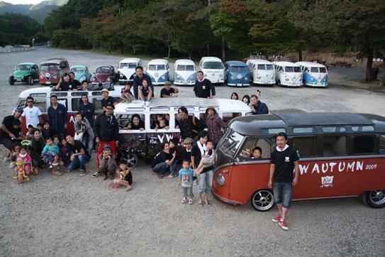 10th VW AUTUMN 2009ウォルフスブルグキッズです。