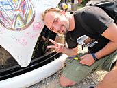 10th VW AUTUMN 2009オーストリアからのお客さま
