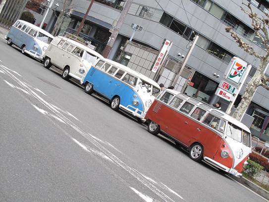 元旦空冷ワーゲンパレード京都2010