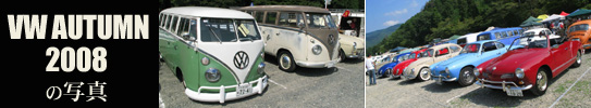 8th VW AUTUMN 2008の写真
